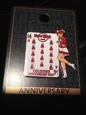 HRC hard rock cafe Cologne 14th Anniversary (Copper) pin 2017, le 100