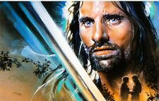 """""""A Fierce Legacy"""" Lord of the Rings Signed Limited Edition Giclée Print 101/125"""