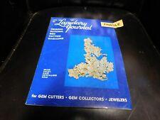 Lapidary Journal Gem Cutting Magazine : January 1970
