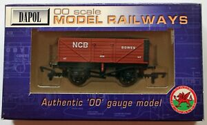 Dapol Limited Edition of 100 - 7-Plank Coal Wagon - NCB Bowes  - New. (00)