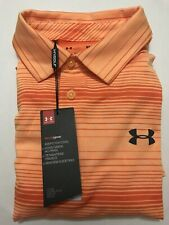 Under Armour Men Heat Gear Short Sleeve Golf Polo Shirt Size Small