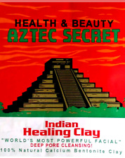 Aztec Indian Healing  bentonite Caly Deep Cleansing Mask + gifts by surprise