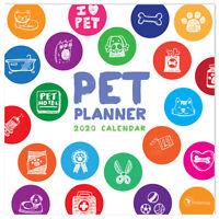 2020 Pet Planner Wall Calendar
