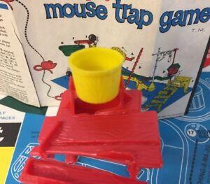 Original Mouse Trap Game Bucket Part 10 Ideal 1963 Clean No Damage