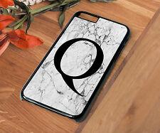 Letter Q Name Phone Case Iphone 4 4S 5 5S 5C SE 6 6S 7 PLUS Bride Wedding