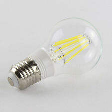 110V-220V AC E27 6W 6X1W White Filament LED Bulb Light Lamp Globe Retro
