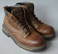 Men's Brown / Tan Skechers Coolcat Bully 2 Leather Boots SN 4479, Size UK 11.
