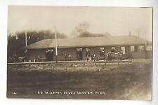 C.G.W. Railroad Depot, Dodge Center, Minnesota RPPC