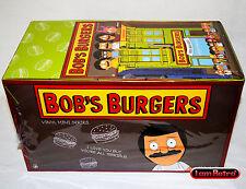 Bob's Burgers Vinyl Mini Series Kidrobot Brand NewDisplay Case 20 PCS