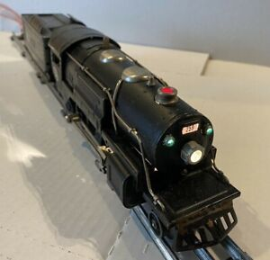 1932 LIONEL PREWAR TRAINS-NO. 259 ELECTRIC STEAM LOCOMOTIVE & TENDER- O-GAUGE VG