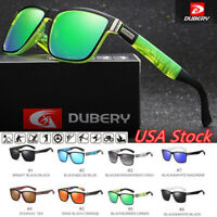 DUBERY Men Sport Polarized Driving Sunglasses Outdoor Riding Fishing Goggles USA
