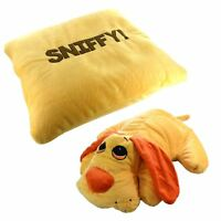 Kids Childrens Reversable Soft Plush Pillow Cuddle Animal Cushions Toys Pet