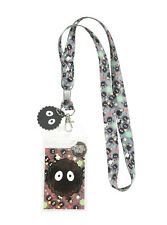 Studio Ghibli Spirited Away Soot Sprite Lanyard Badge Id Holder New