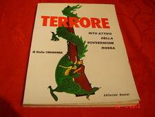 Giulio Caradonna TERRORE Ed. dossier ( Politica Destra Terrorismo) raro!!!!