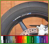SUZUKI DRZ Wheel Rim Decals Stickers x8 - dr-z dr z 800 650 400 125 sm se
