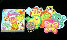 NEW LACING LACE UP PICTURES 6 COLOURFUL CARDS TO STITCH BUTTERFLY + GRAFIX