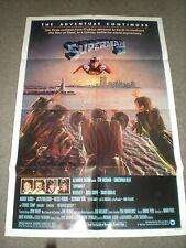 SUPERMAN 2 - ORIGINAL FOLDED POSTER - 1980 - CHRISTOPHER REEVE