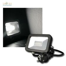 LED FOCO Liso Luz Solar 780lm, 10w, IP44, proyector exterior FARO FOCO