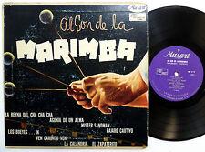 "MARIMBA CHIAPAS 10"" LP Al Son De La Marimba VG++ Latin AFRO-CUBAN Musart mg535"