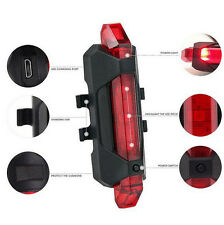 4 Models Bike Bicycle Cycling Tail Rear Safety Warning LED Red Lights Bulb Lamp