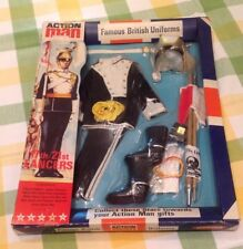 ORIGINAL VINTAGE ACTION MAN ~FAMOUS BRITISH UNIFORMS~ 17TH/21ST LANCERS CARDED