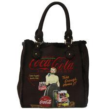 Borsa Fix Design Coca Cola donna marrone bag