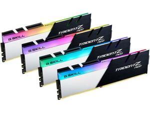 G.SKILL Trident Z Neo RGB 64GB (4 x 16GB) DDR4 (PC4 25600) F4-3200C14Q-64GTZN