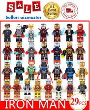 29pcs Superhero Iron Man Iron Patriot Mark Ultron Fit Lego Blocks Brick Marvel