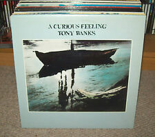 "TONY BANKS - A CURIOUS FEELING 12"" Vinyl LP"