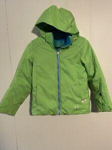 Girls Spyder Jacket Size 10 Green