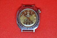 Vintage VOSTOK Komandirskie soviet USSR Submarine military wrist watch, 2414a