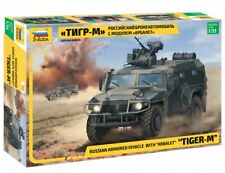 3683 Zvezda model kit russian armored vehicle with arbalet TIGER-M scale 1/35