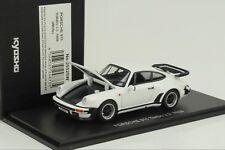 Porsche 911 930 Turbo 3.3 1988 openable bonnet rear lid weiss 1:43 Kyosho
