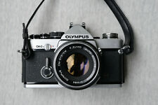 Olympus OM-2n + databack SLR w/ 50mm f/1.8 and strap in good condition