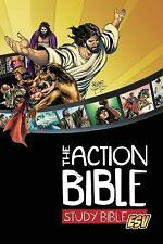 """""""The Action Bible ESV Study Bible"""" (Brand New Hardcover Comic Book Study Bible)"""