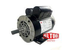 "3 HP SPL 3450 RPM 56 Frame 230V 15Amp 5/8"" Shaft Single Phase NEMA Motor"