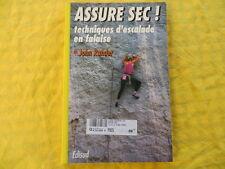 ASSURE SEC! techniques d'escalade en falaise - Rander