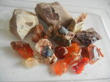 mexican fire opal rough origin Mexico lapidary, specimen 355.30 ct