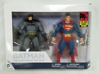 Dark Knight Returns 30th Anniversary 2 Pack Action Figures Batman Superman New