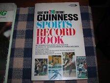 1972, Guinness Sports Record Book, paperback, ex condition