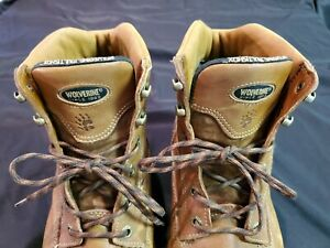 Wolverine Multishox Leather Work Boots / Hunting Boots Men's Size 14 Made in USA