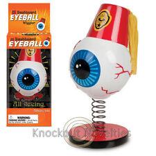 Dashboard Eyeball Wiggler Spring Vinyl Bust Head Fan Car Bobble Toy Eye Ball