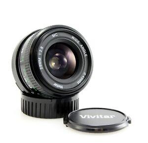 Vivitar 28mm f/2.8 Wide Angle Lens - Nikon F Mount