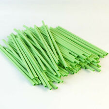 Paper Craft Straws X 100 Green (21cm) Arts and Crafts Flower Stem
