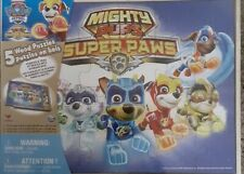 5 WOOD PUZZLES  MIGHTY PUPS SUPER PAWS