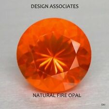 MEXICAN FIRE OPAL 6 MM ROUND CUT ALL NATURAL BEAUTIFUL COLOR