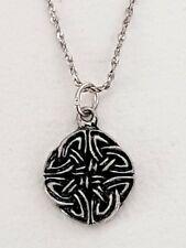 Celtic Trinity Knot Necklace Pendant Unusual Chain Jewellery