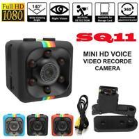 SQ11 Hidden DV DVR Camera Full HD 1080P Mini-Car IR Cam Dash Night-Visi X9H6