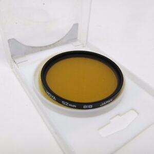 Hoya 81B 52 mm Camera Lens Filter Japan w/ case