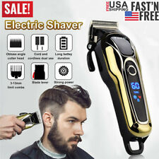 Kemei Professional Electric Men Hair Clipper Shaver Trimmer Cutter LCD Display